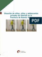 Estudio Cels- Menores Privados de La Libertad en La Provincia de Buenos Aires