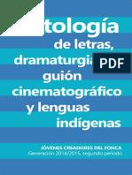 Antología FONCA 2014-2015 Segundo Periodo