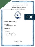 Guía Practica de Salud y Sociedad III