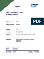 SAP GoingLive Analysis