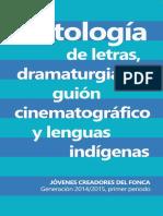 Antología FONCA 2014-2015