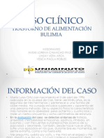 Caso Clinico Bulimia Nerviosa