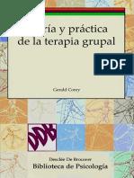Cap 4 Teoria y Practica de La Terapia Grupal. Gerald Corey