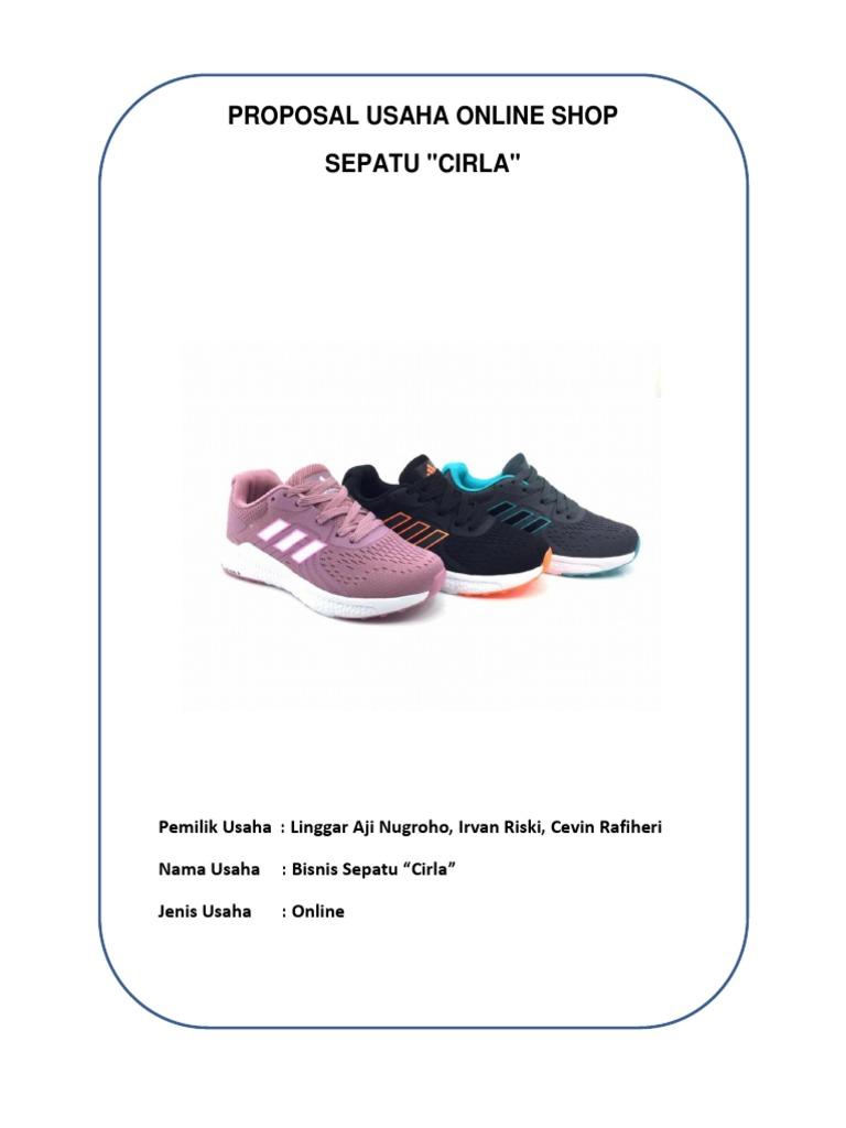 Linggar Proposal Usaha Online Shop Sepatu Linggar Nugroho