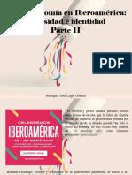 Eustiquio José Lugo Gómez - La Gastronomía en Iberoamérica, Diversidad e Identidad, Parte II