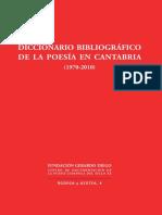 Diccionario Poesia en Cantabria