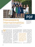 Primera promoción de internacionalistas