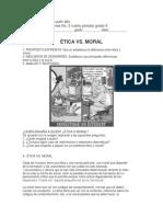 Taller Etica y Valores Grado 9