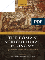 (Oxford Studies on the Roman Economy) Alan Bowman, Andrew Wilson (Eds.) - The Roman Agricultural Economy_ Organization, Investment, And Production-Oxford University Press (2013)