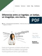 Diferencias Entre Un Logotipo, Un Isotipo, Un Imagotipo, Una Marca… _ Tentulogo