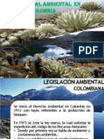 Presentacion Marco Legal Ambiental en Colombia