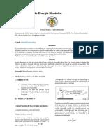 Fisica Conservacion de La Energia Mecanica Informe Final