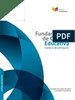 Fundamentos de Calidad Educativa PARTICIPANTE