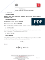 04. TE, Lab04 - Aplicación de La Ley de Gauss Con Matlab