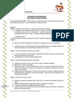 Guía de Estudio Percy Jackson y El Ladrón Del Rayo