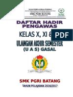 COVER DAFTAR HADIR PENGAWAS UAS 2016-2017.doc