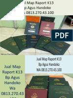 WA 0813.270.43.100, Jual Sampul Raport K13 diNias  Selatan Sumatra Utara