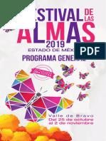 Programa Festival de las Almas 2019