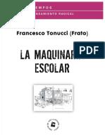 Tonucci Francesco - La Maquinaria Escolar