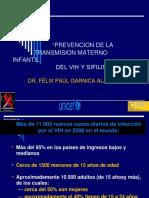TRANSMISION MATERNO INFANTIL-VIH-SIFILIS.ppt