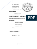 informe analogica 2