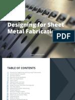 Designing for Sheet Metal Xometry eBook