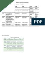 Rubrica Evaluacion Ficha Clinica -Quiz ST