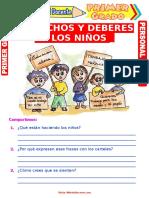 guia de derechos y deberes de los niños