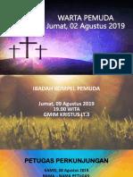 Warta Pemuda 02 Agustus 2019