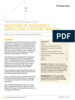 Wrr Installment 6 Sustainable Agruiculture Indicators