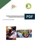 Ponencia Planificación Participativa Para La Gestión Territorial Una Experiencia