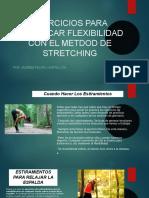 Ejercicios Para Practicar Flexibilidad Con El Metdod de Stretching
