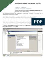 Tutorial Servidor VPN windows 2008
