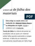 Teoria de Falha Dos Materiais – Wikipédia, A Enciclopédia Livre