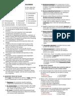 Post Test in Personal Development