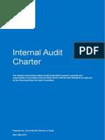 Internal Audit Charter - Ccgs