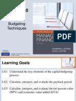 Gitman Capital Budgeting