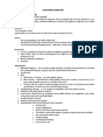 Gestational Conditions Handout