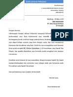 1. Surat LamaranResa