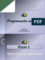 Python Clase1 Ejercicios