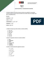 01. Taller Notacion Cientif. y Conversion de Unid