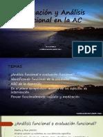 Evaluación y Análisis Funcional en La AC
