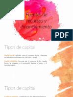 E7 - Fuentes de Recursos y Financiación