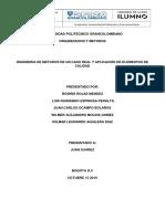 2° Colaborativo Organización y métodos