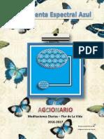 Agcionario 2 Meditacion Flor Del a Vida 2016 17 Aracelis Rodriguez1