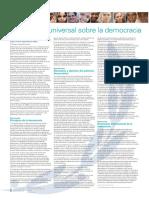 Declaracion Universal Sobre La Democrcia