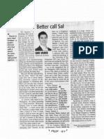 Daily Tribune, Oct. 16, 2019, Better call Sal.pdf