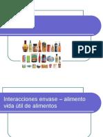 Envases Interacciones Envase Alimento Entorno