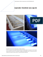 Construir Una Caja de Luz Uv _ Vostok Printing Shop