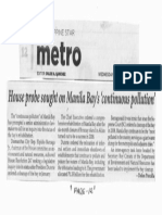 Philippine Star, Oct. 16, 2019, House probe sought on Manila Bays continous pollution.pdf